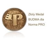 Nagroda Złoty Medal BUDMA dla programu Norma PRO